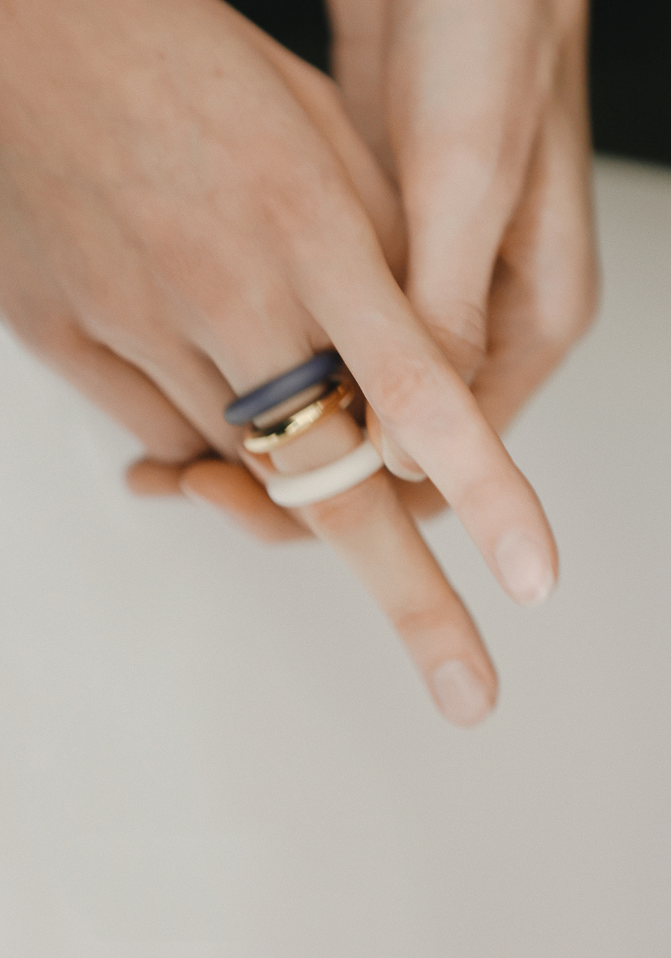 Puffy Ring (ivory)