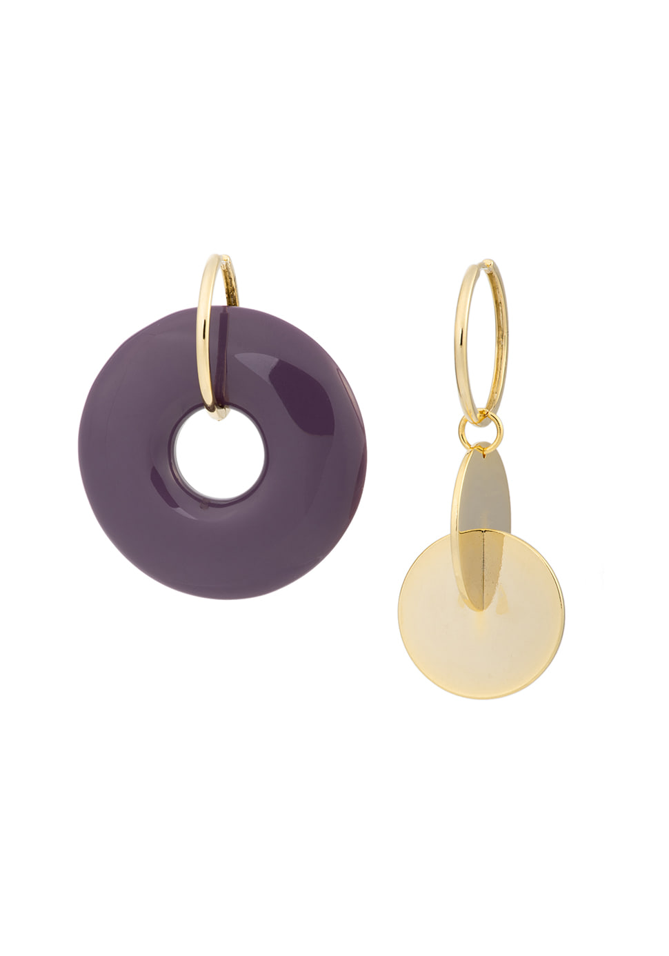 Autumnent Earring (violet)