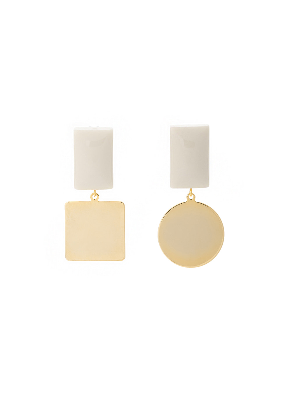 Pave Earring (ivory)
