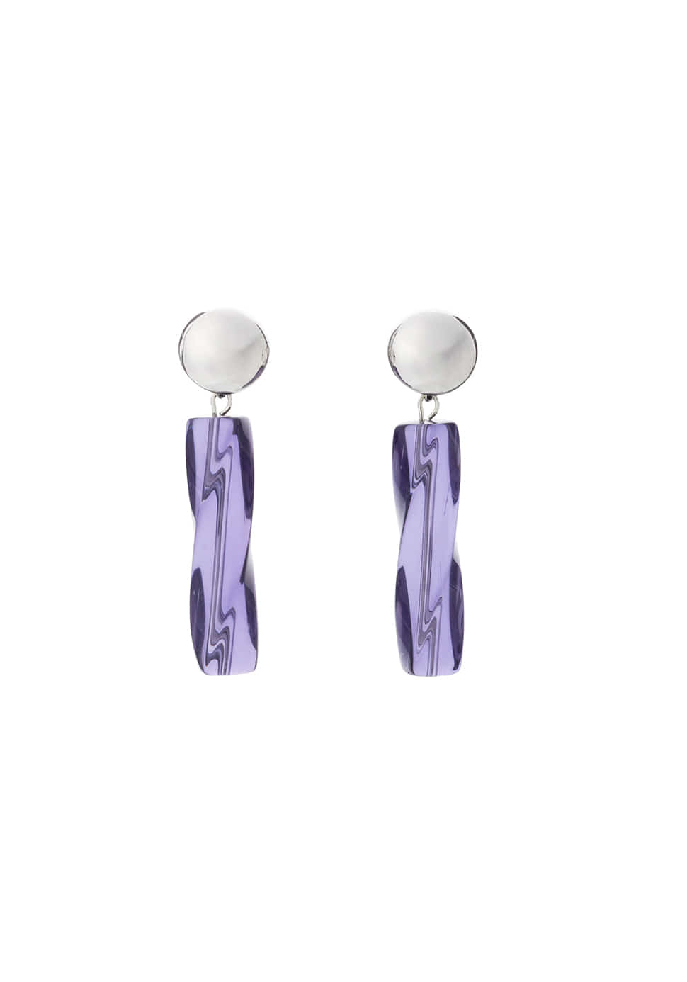 Ercole Earring (violet)