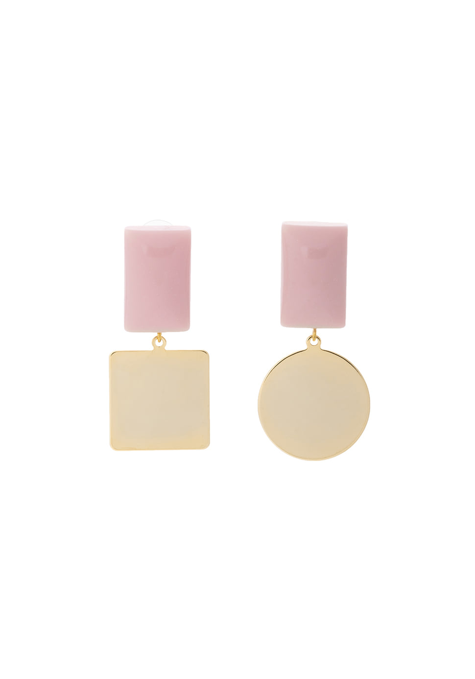 Pave Earring (pink)