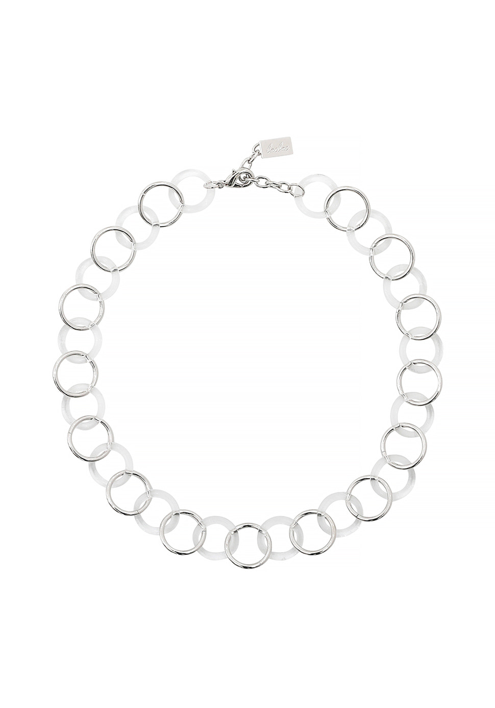Tejer Necklace (clear)